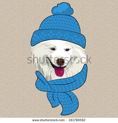 Samoyed svg #5, Download drawings