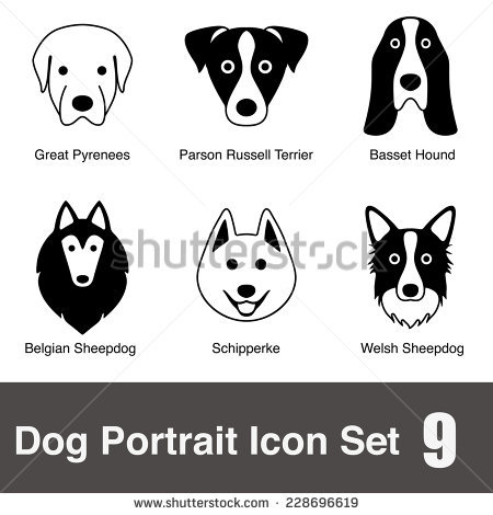Samoyed svg #14, Download drawings