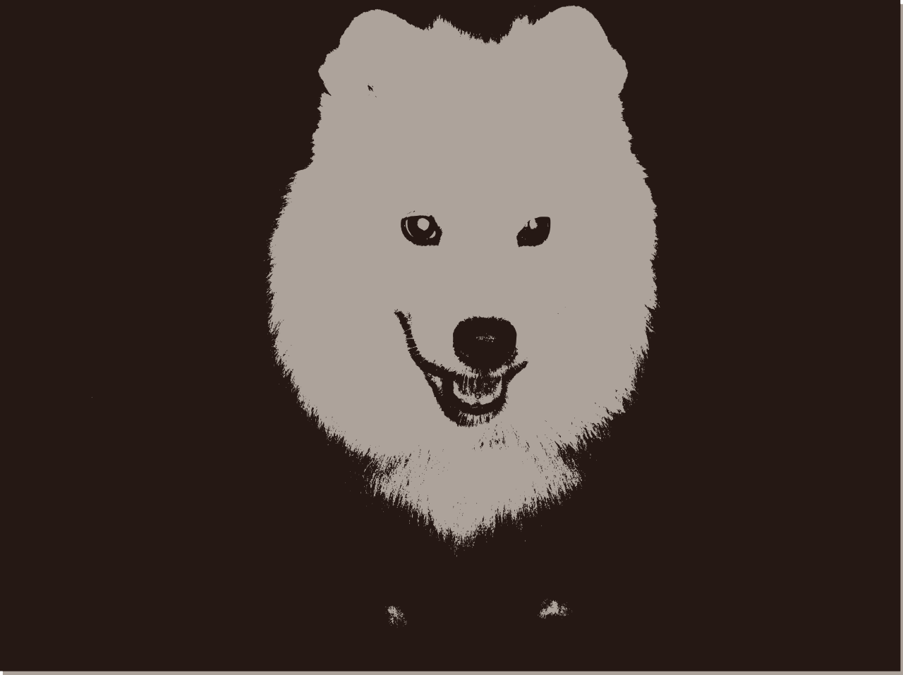 Samoyed svg #10, Download drawings