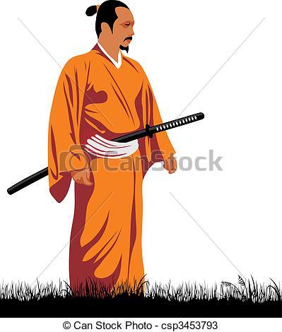 Samurai clipart #7, Download drawings