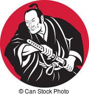 Samurai clipart #2, Download drawings
