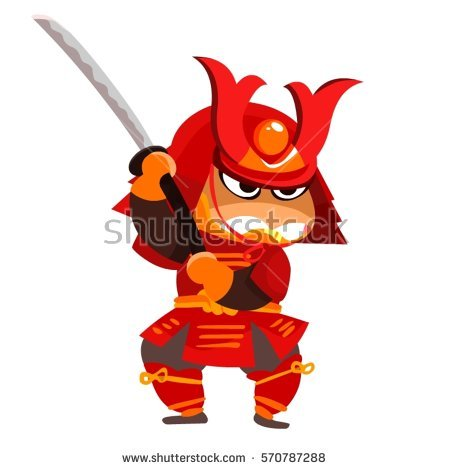 Samurai clipart #6, Download drawings