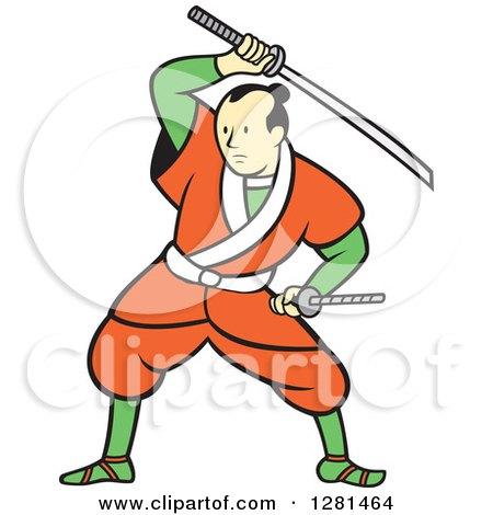 Samurai clipart #4, Download drawings