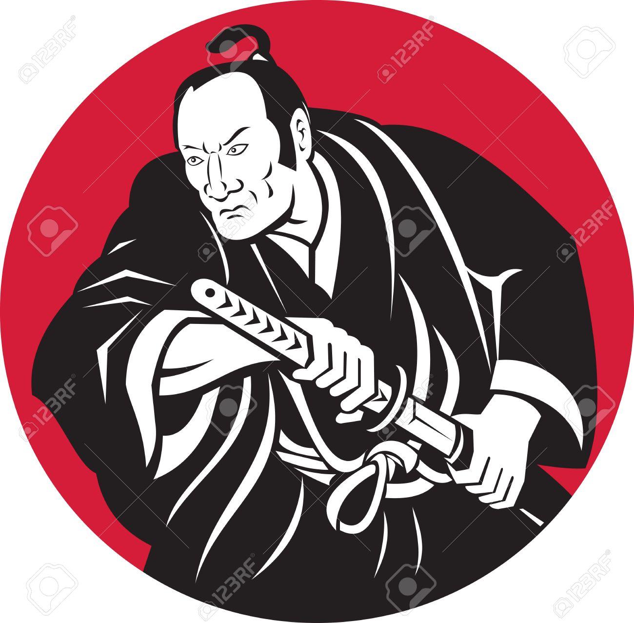 Samurai Warrior clipart #13, Download drawings