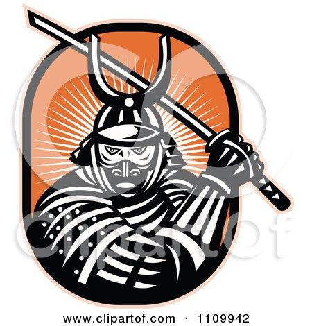 Samurai Warrior clipart #4, Download drawings