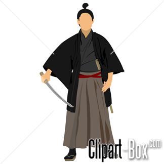 Samurai Warrior clipart #1, Download drawings