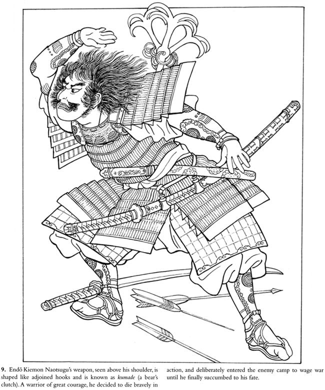 Samurai Warrior coloring #8, Download drawings