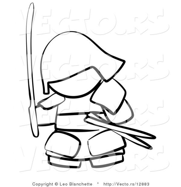 Samurai Warrior coloring #4, Download drawings