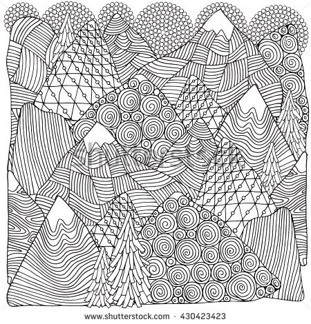 San Francisco Peaks coloring #11, Download drawings