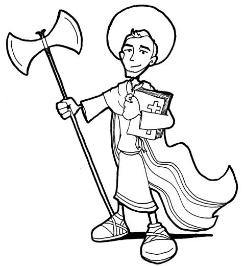 San Lucas coloring #10, Download drawings