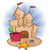 Sandcastle clipart #14, Download drawings
