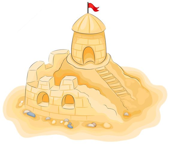 Sandcastle clipart #5, Download drawings