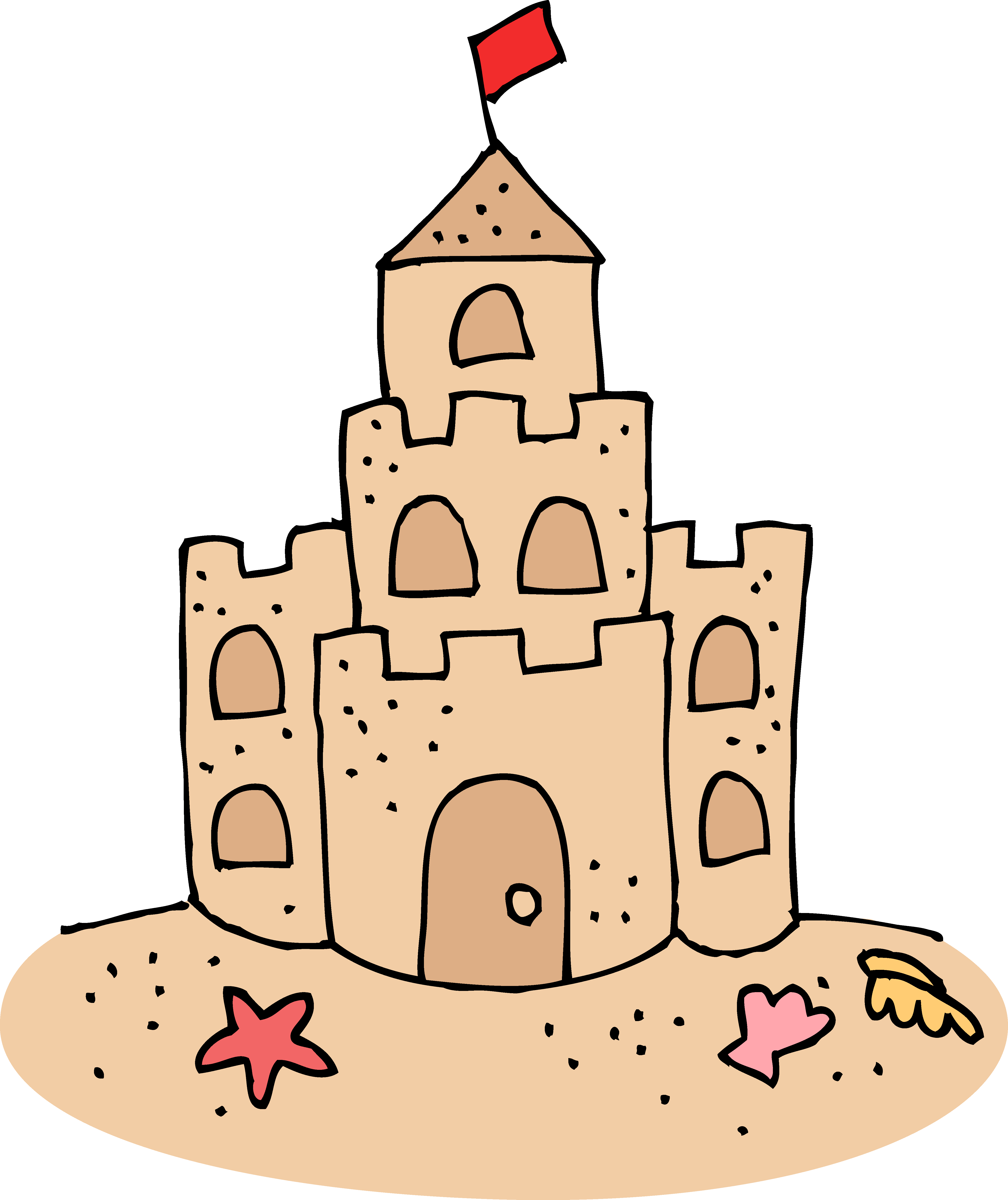 Sand Castle clipart #2, Download drawings