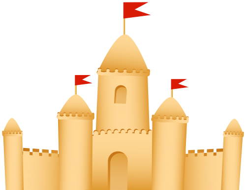 Sandcastle clipart #4, Download drawings