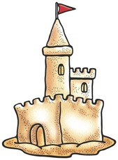 Sandcastle clipart #15, Download drawings