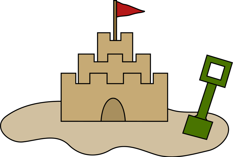Sandcastle clipart #17, Download drawings
