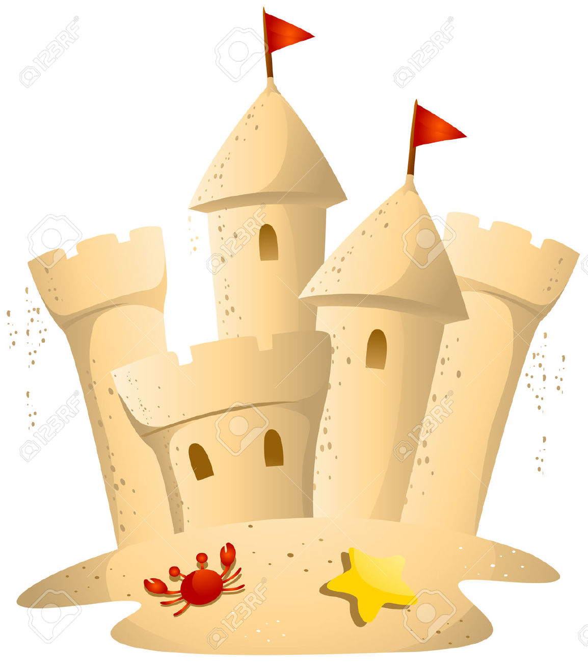 Sandcastle clipart #18, Download drawings