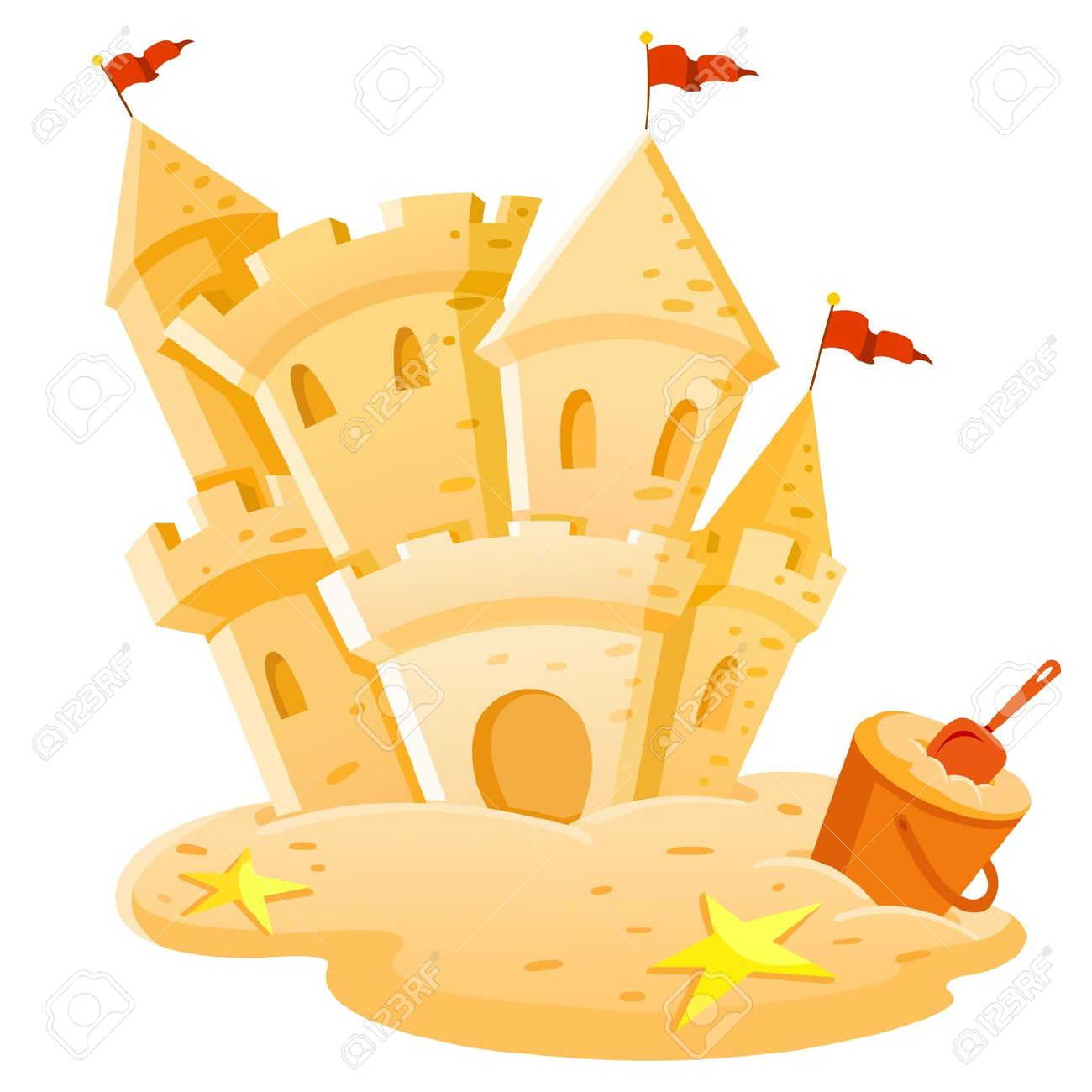Sandcastle clipart #10, Download drawings
