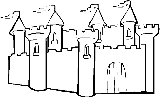 Sandcastle coloring #7, Download drawings