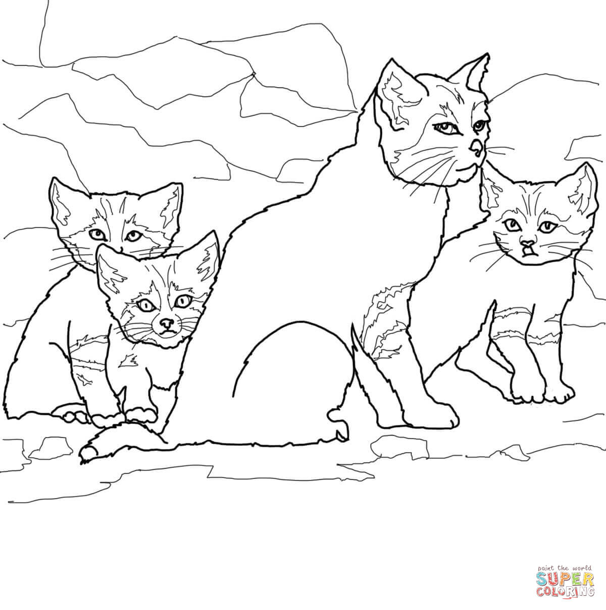 Sand Cat clipart #12, Download drawings