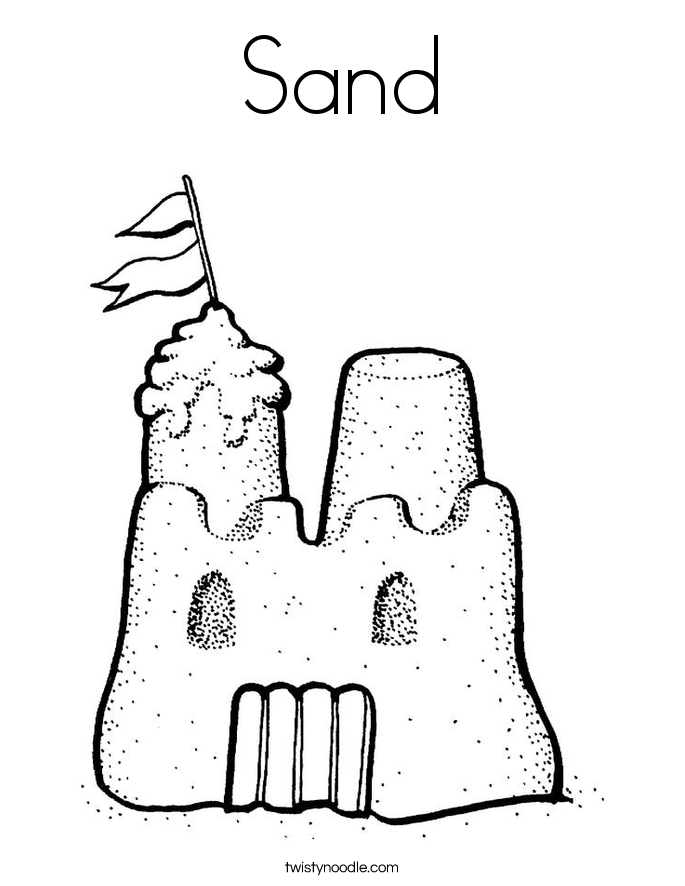 Sand coloring #13, Download drawings