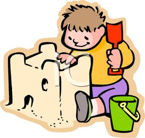 Sandcastle clipart #7, Download drawings