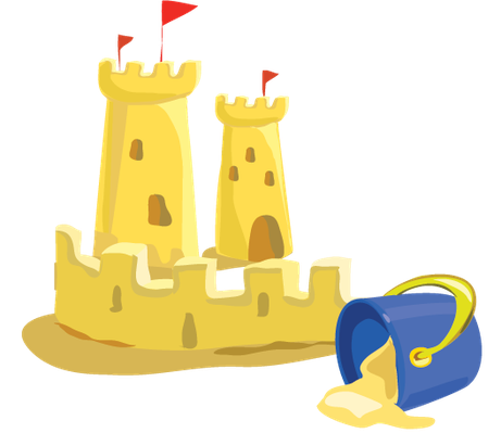 Sandcastle clipart #3, Download drawings