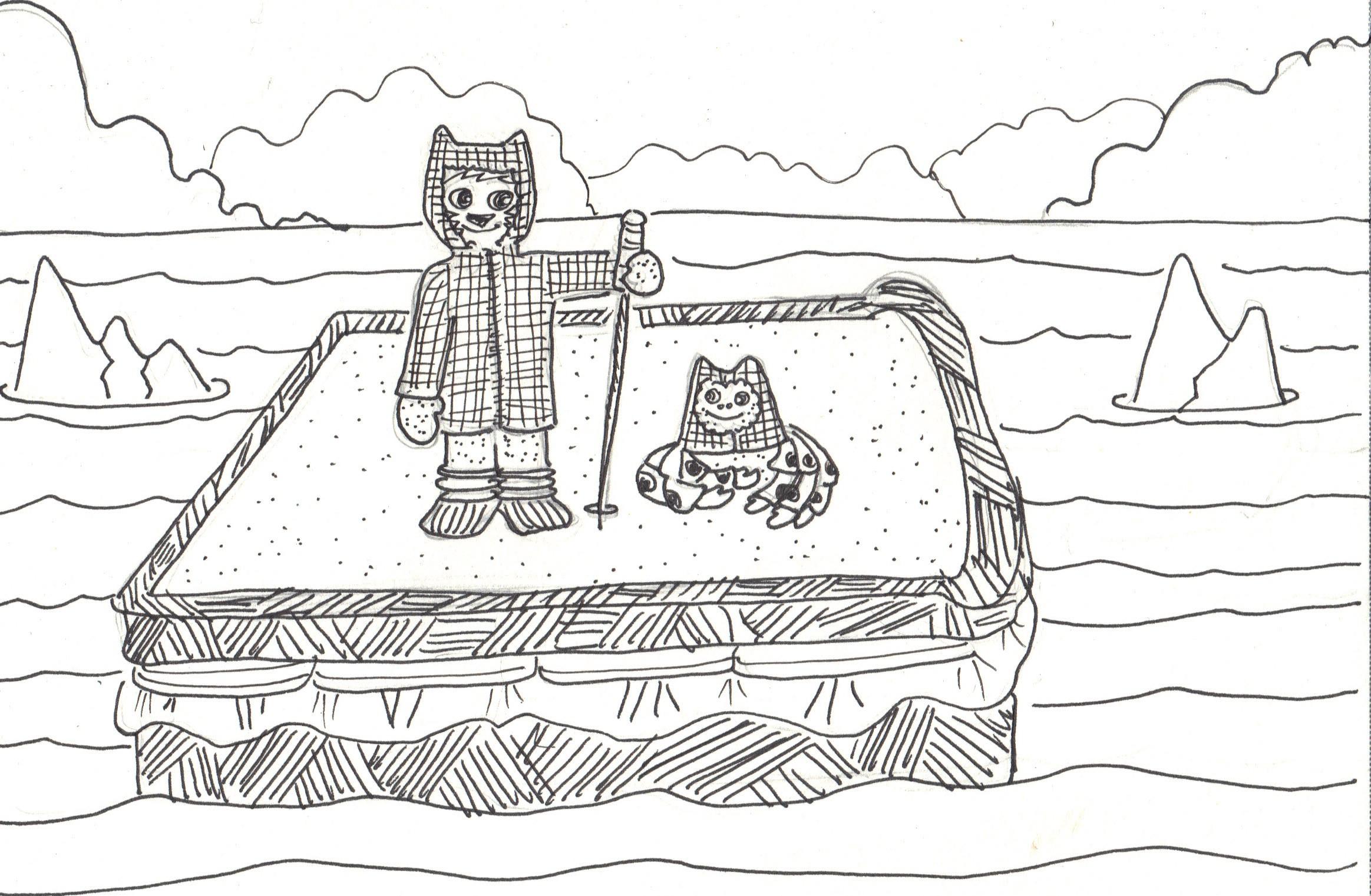 Sandwich Islands coloring #8, Download drawings