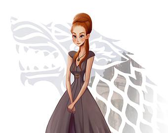 Sansa Stark clipart #1, Download drawings