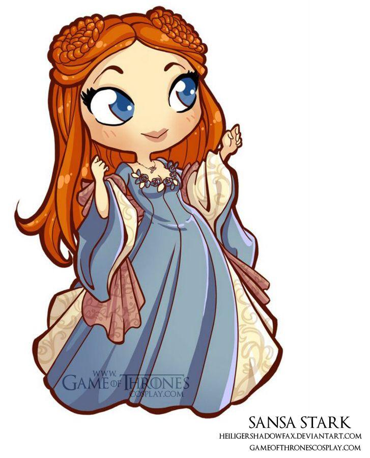 Sansa Stark clipart #12, Download drawings