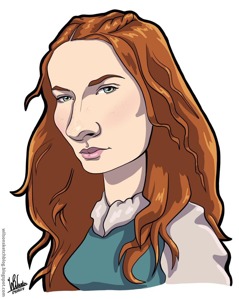 Sansa Stark clipart #14, Download drawings