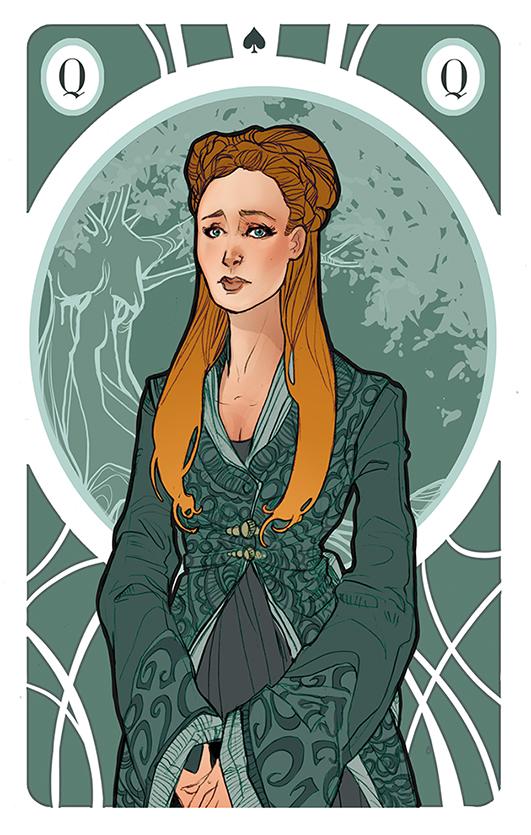 Sansa Stark clipart #17, Download drawings