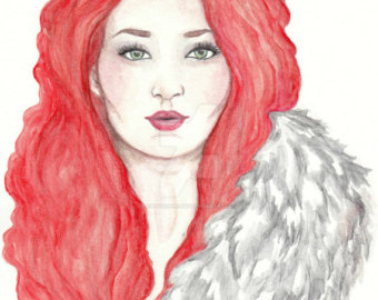 Sansa Stark clipart #3, Download drawings