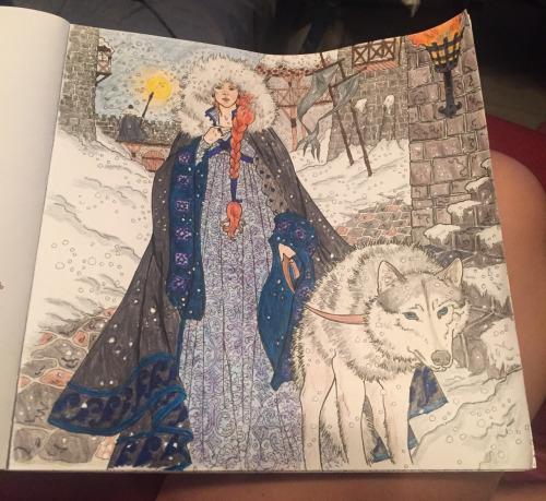 Sansa Stark coloring #14, Download drawings