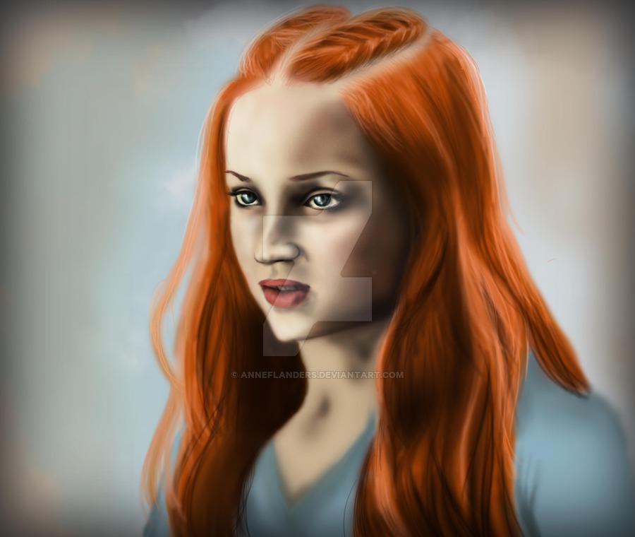 Sansa Stark coloring #2, Download drawings