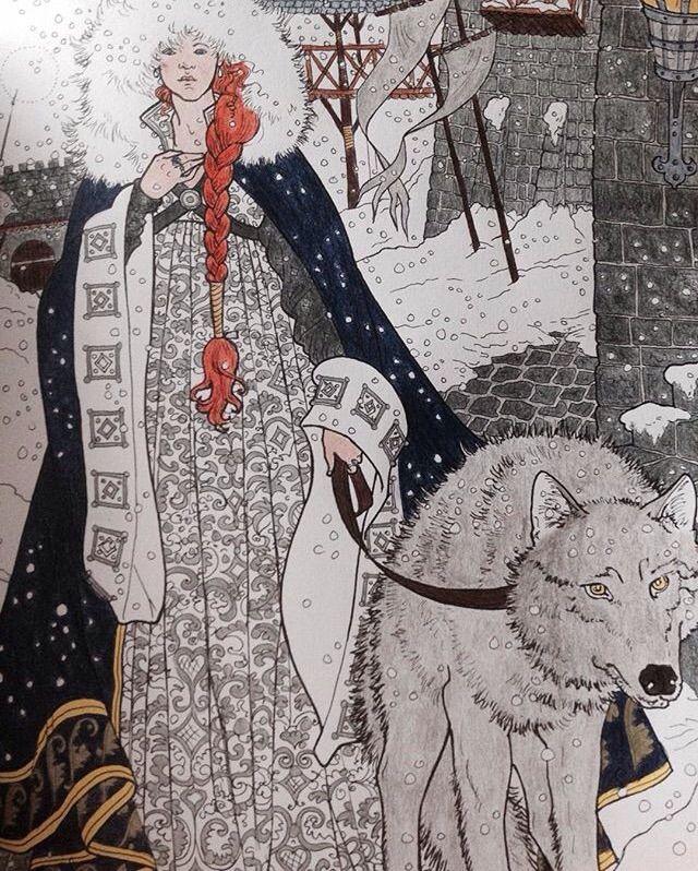 Sansa Stark coloring #18, Download drawings