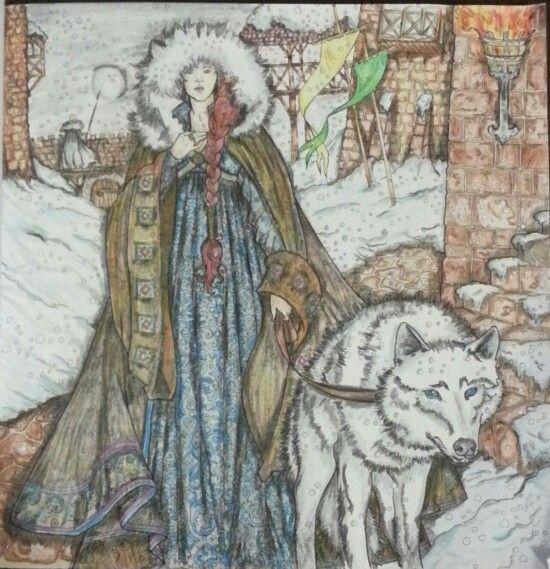Sansa Stark coloring #15, Download drawings