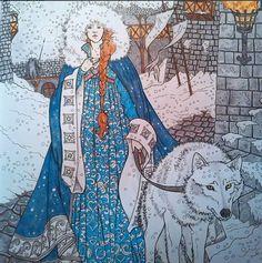 Sansa Stark coloring #13, Download drawings
