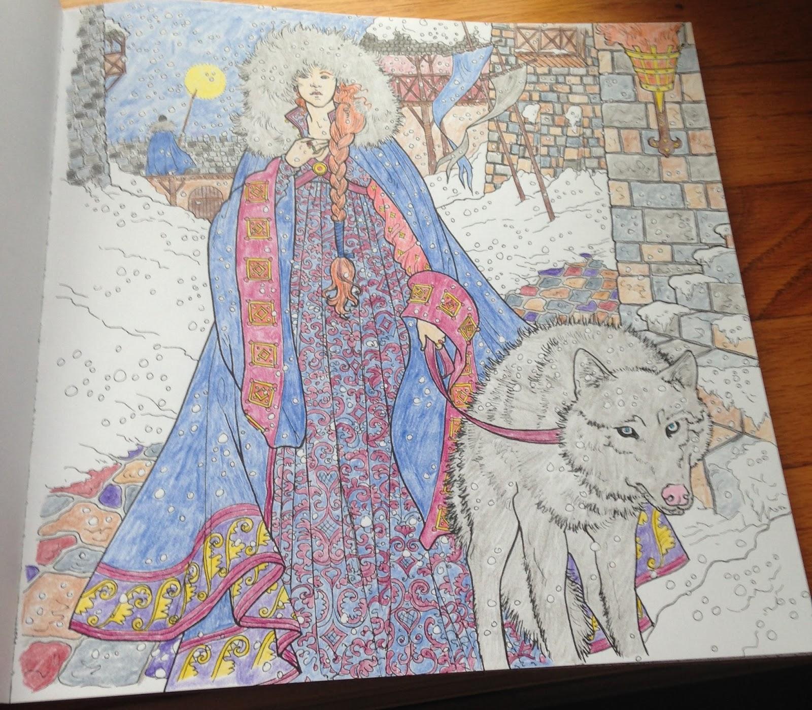 Sansa Stark coloring #19, Download drawings