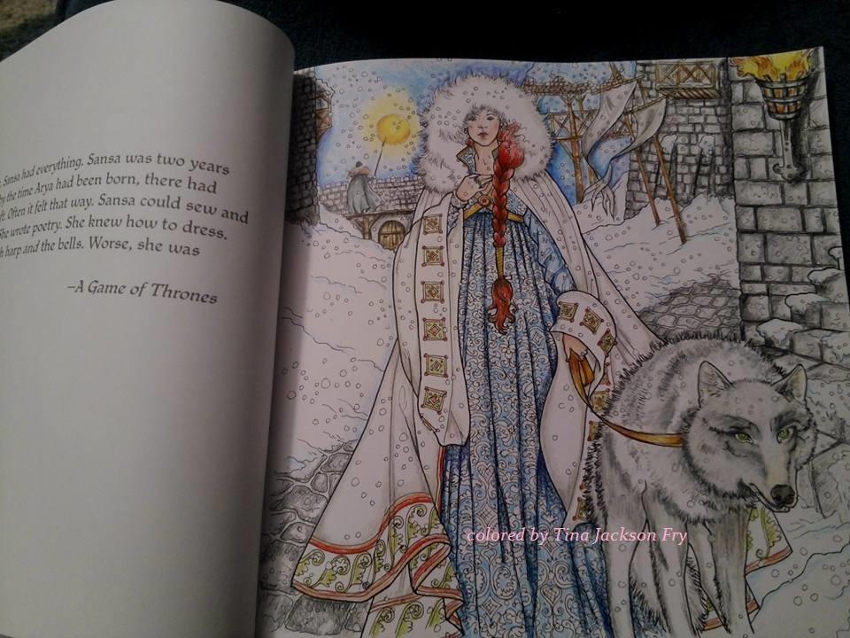 Sansa Stark coloring #8, Download drawings