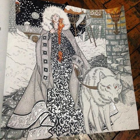 Sansa Stark coloring #11, Download drawings