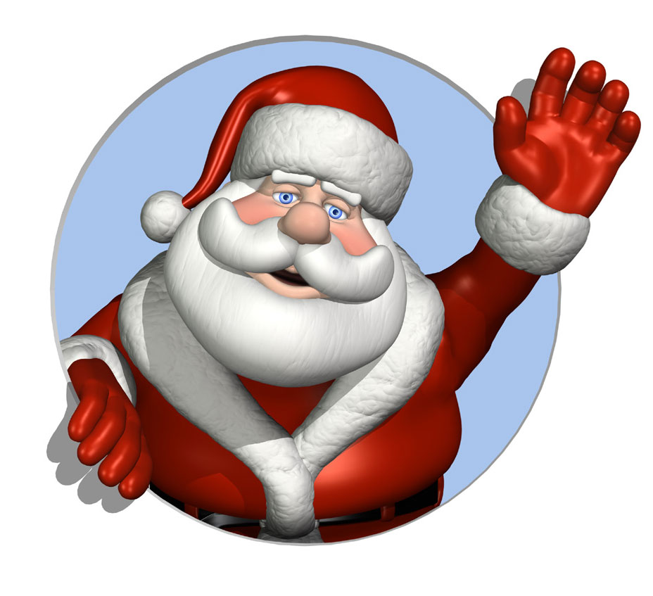 Santa clipart #9, Download drawings