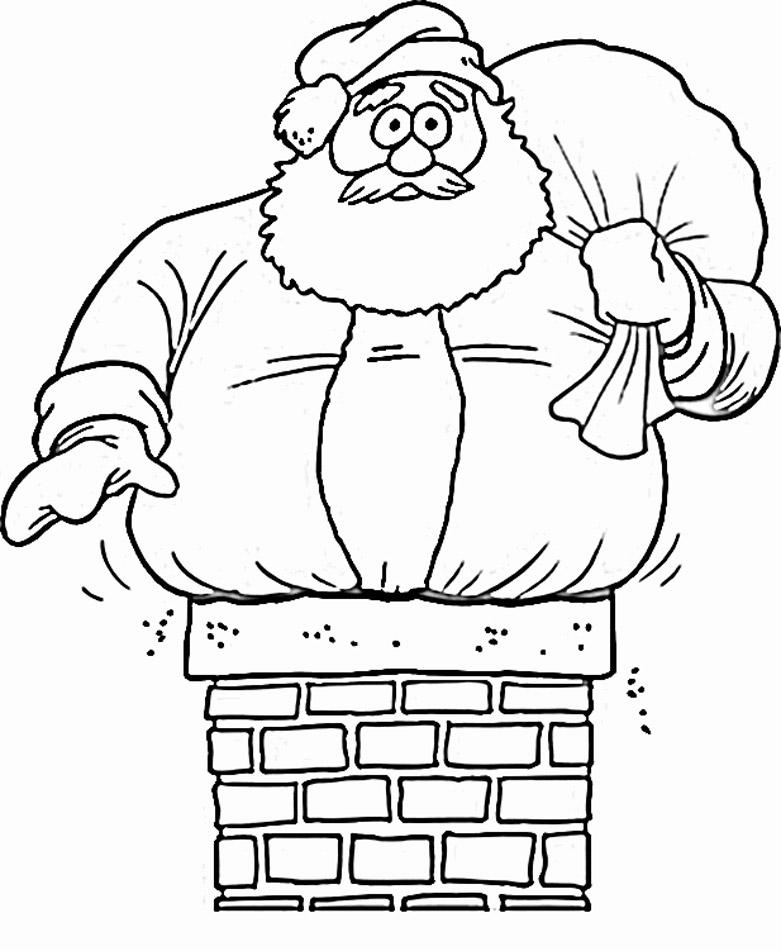 Santa coloring #18, Download drawings