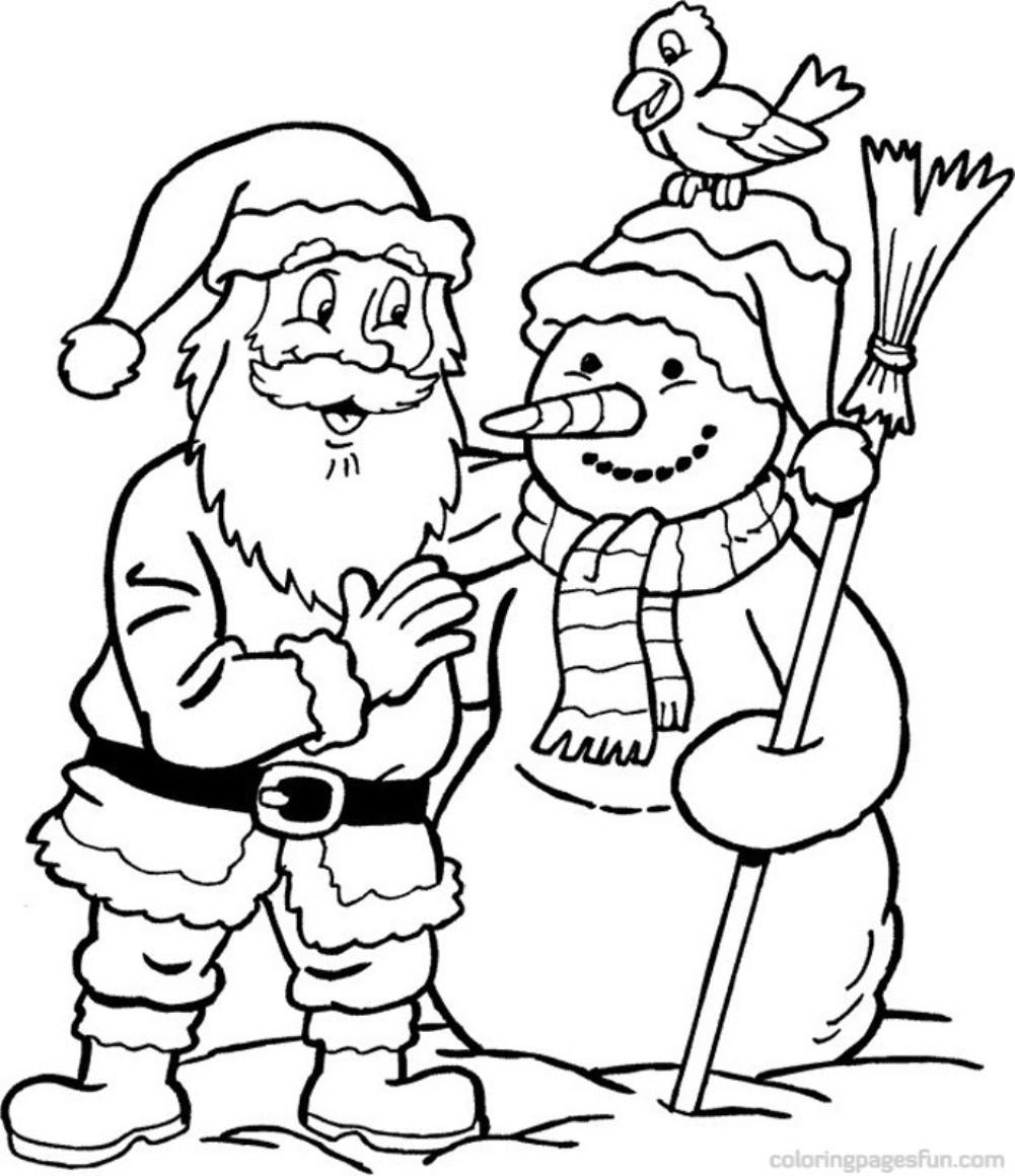 Santa coloring #17, Download drawings