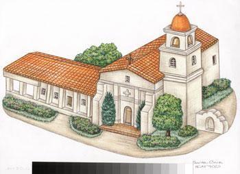 Santa Cruz coloring #17, Download drawings