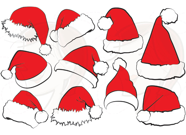 Santa Hat clipart #19, Download drawings