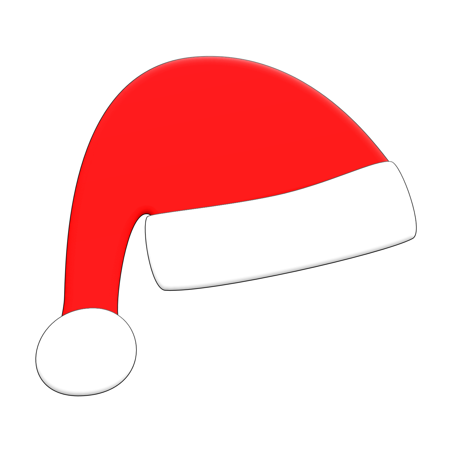Santa Hat clipart #13, Download drawings