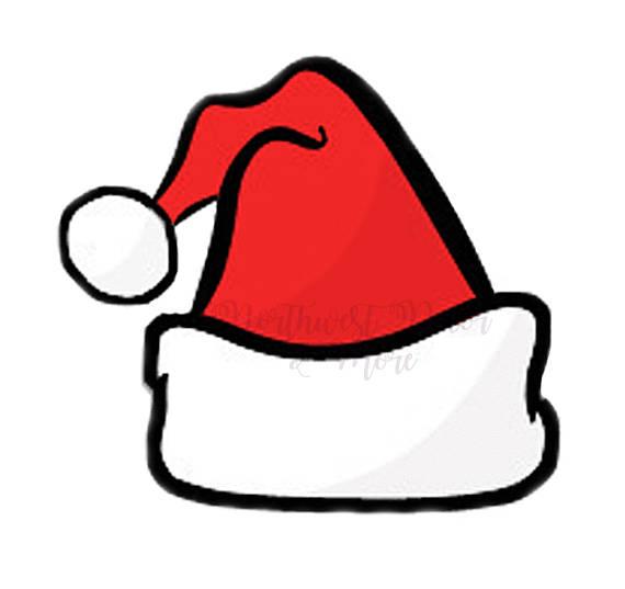 santa hat svg free #1211, Download drawings