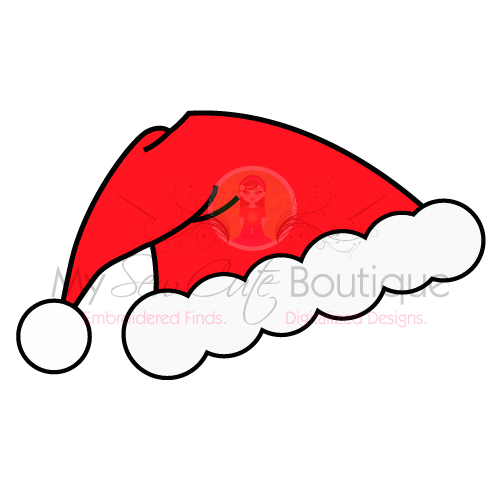 santa hat svg free #1204, Download drawings