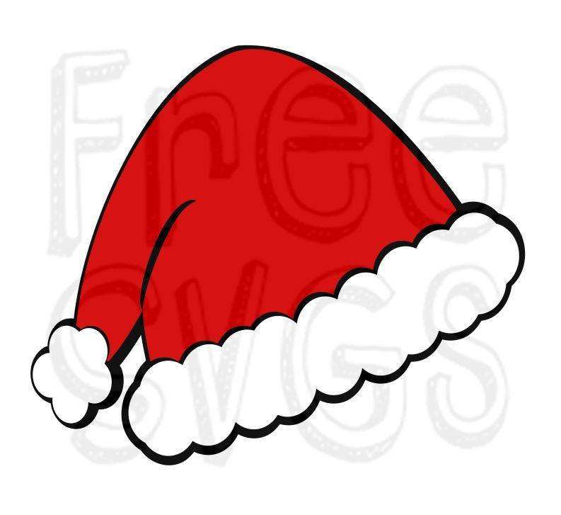 santa hat svg free #1213, Download drawings